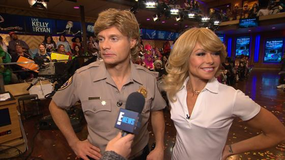Ellen DeGeneres Kelly Ripa And More TV Hosts Win Halloween With These Incredible Costumes