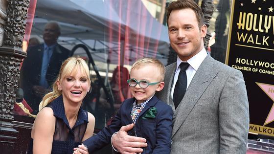 How Anna Faris Celebrated Chris Pratt's Newborn Daughter - E! Online