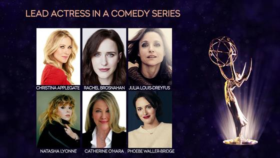 2019 Emmy Nominations For Comedy Actor Actress Series