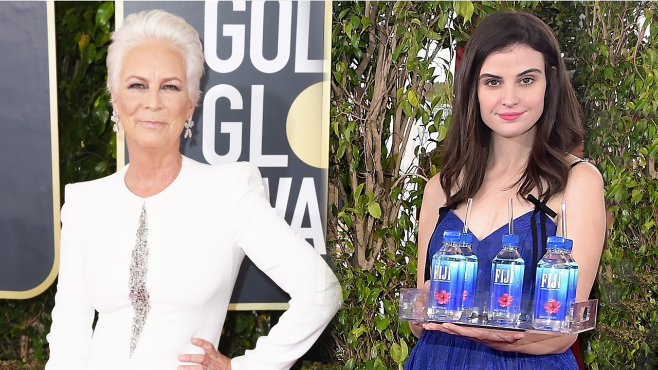 Jamie Lee Curtis Slams Fiji Water for Viral PR Stunt at 2019 Golden Globes