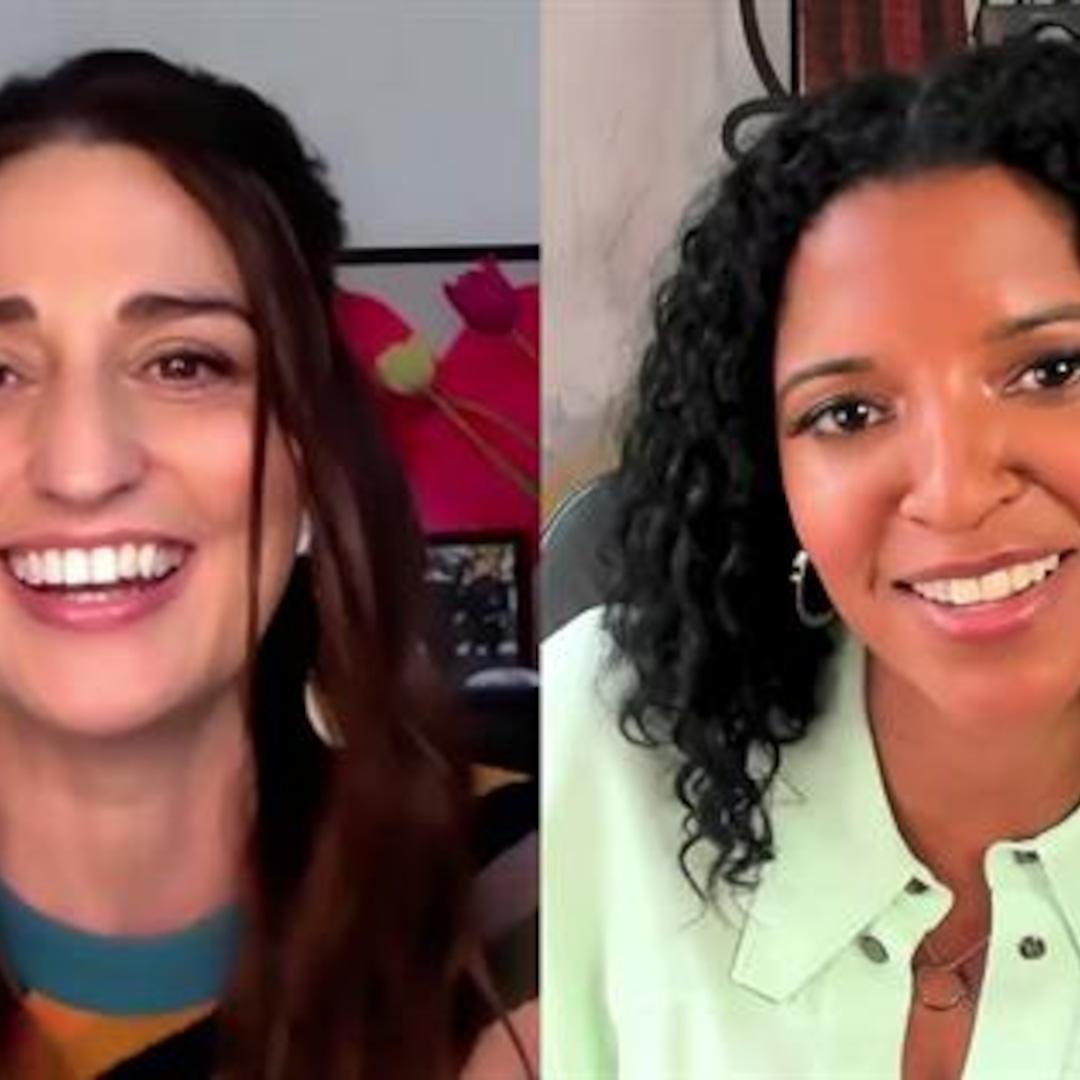Sara Bareilles & Renee Elise Goldsberry Tease