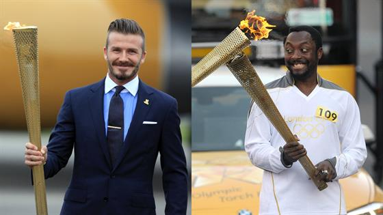 Celebrities Who've Participated in the Olympic Torch Relay - E! Online