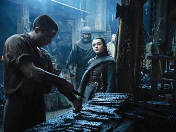 Maisie Williams confiesa cómo se sintió con la candente escena de Arya y Gendry
