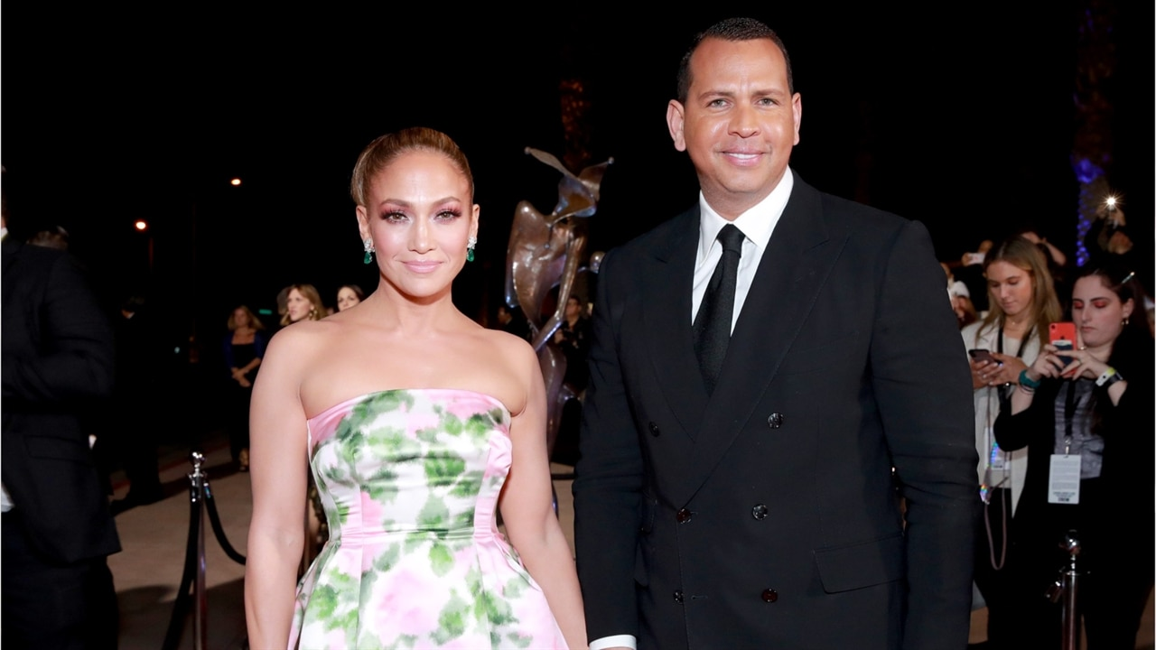 Jennifer Lopez & Alex Rodriguez Officially Postpone Wedding