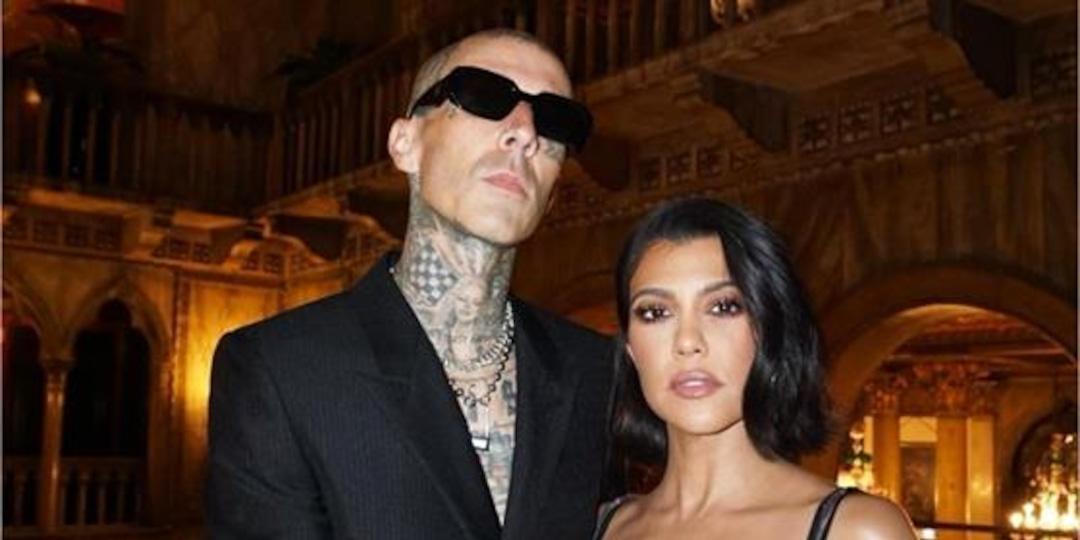 Kourtney Kardashian Supports Travis Barker at Machine Gun Kelly Concert - E! Online.jpg