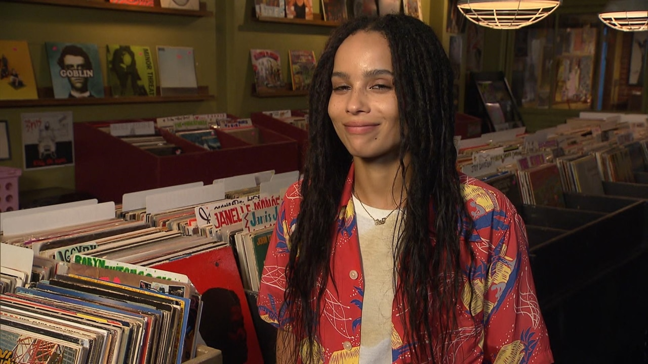Zoe Kravitz Reacts to Being in