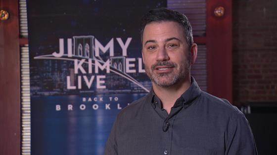 Jimmy Kimmel Grateful to Be Nominated With Every Talk Show