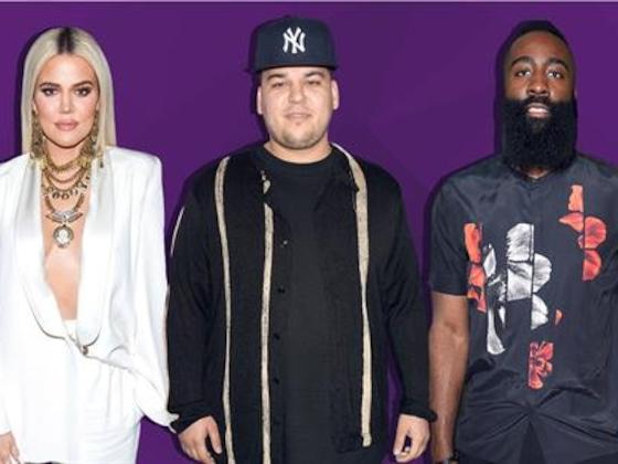 Rob Kardashian Impressed By Khloe's Ex James Harden