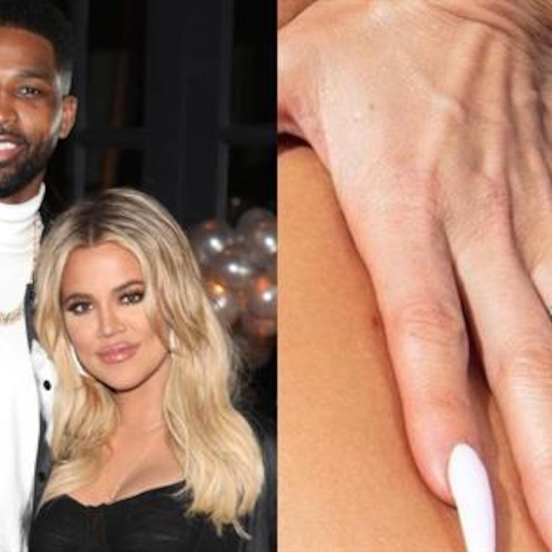 Khloe Kardashian Sparks Engagement Rumors with Diamond Ring