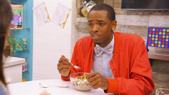 Breakfast-Dinner Date Overshadowed by Suave Cereal Guy