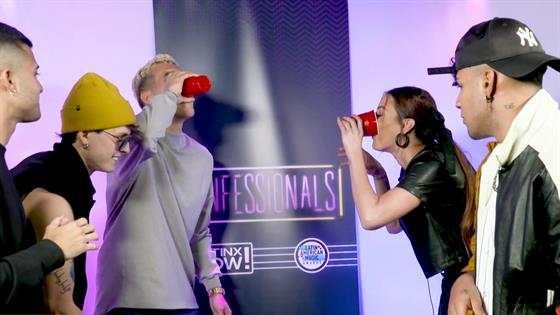 CNCO Plays Flip Cup Game at 2019 Latin AMAs More - Full Episode