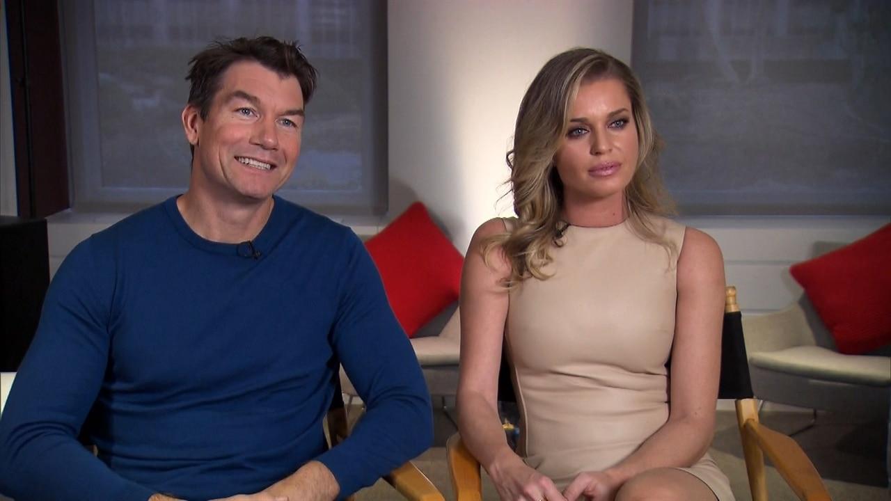 Jerry Oconnell  Rebecca Romijn Talk First Date And Kiss -2333