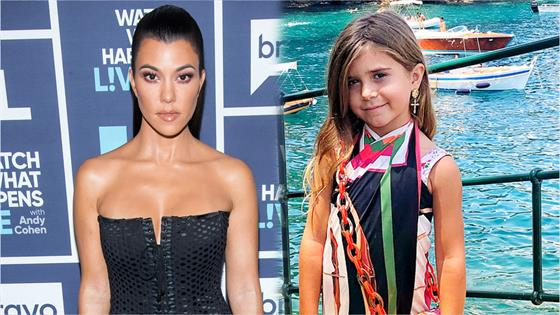 Kourtney Kardashians Daughter Penelope Disick Gets Her First Ever