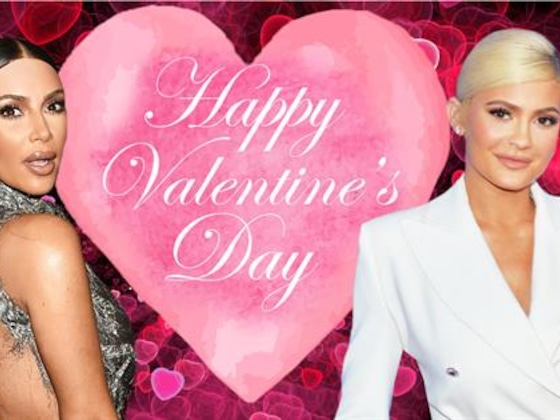 Kim Kardashian & Kylie Jenner's V-Day Gifts Put the Rest to Shame