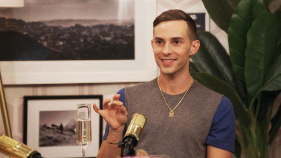 Adam Rippon Impersonates Britney Spears & More Outakes
