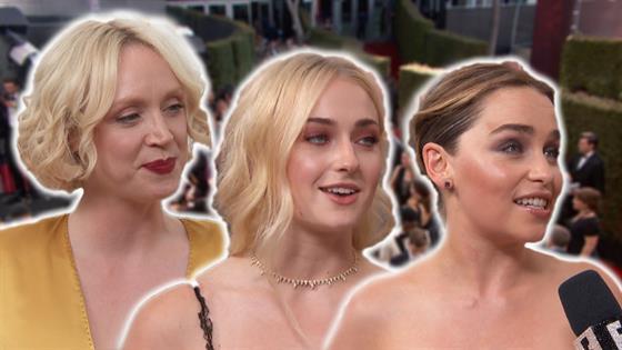 Emmys Red Carpet: GoT Gals Take Over!