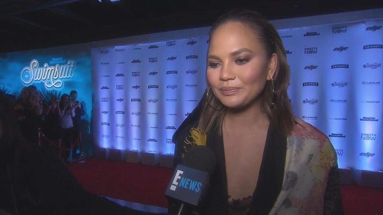 "Chrissy Teigen Talks Diversity in Modeling, Calls Asians ""Underrepresented"" at Sports Illustrated Swimsuit Launch"