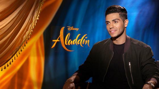 Mena Massoud Compares Iconic Aladdin Role to Batman