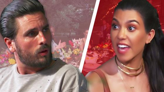 Kardashian Family Feuds: Storm Off Edition
