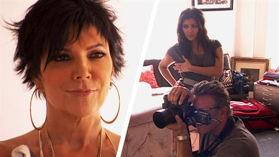 Remember When Kim Made Kris Jenner Strip Naked For A Photoshoot  E News-1212