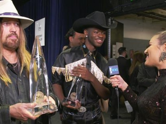 Lil Nas X & Billy Ray Cyrus Celebrate Win at 2019 CMAs