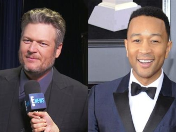 Blake Shelton on John Legend Dethroning Him as Sexiest Man Alive