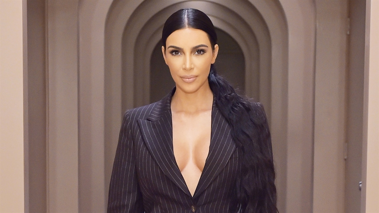 """Kim Kardashian Feels """"So Blessed"""" While Sharing New Family Baptism Pictures"""