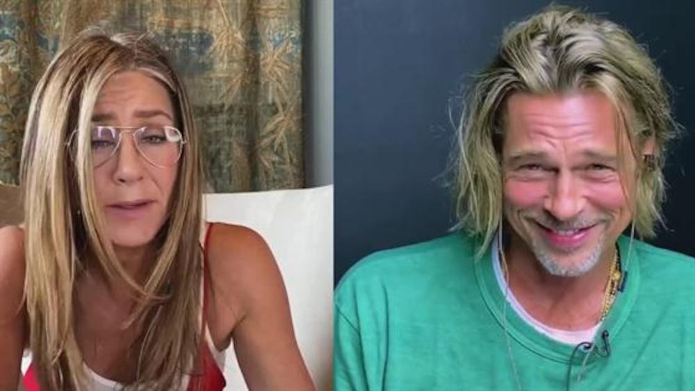 Brad and Jennifer
