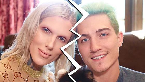 Jeffree Star's boyfriend, Nathan, leaves the makeup guru for a woman