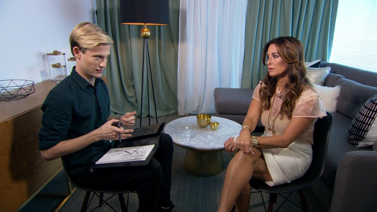 Kyle Richards Left in Chills When Tyler Henry Connects Her With Sister Kim's Murdered Fiancé John: Watch the Unbelievable Clip!