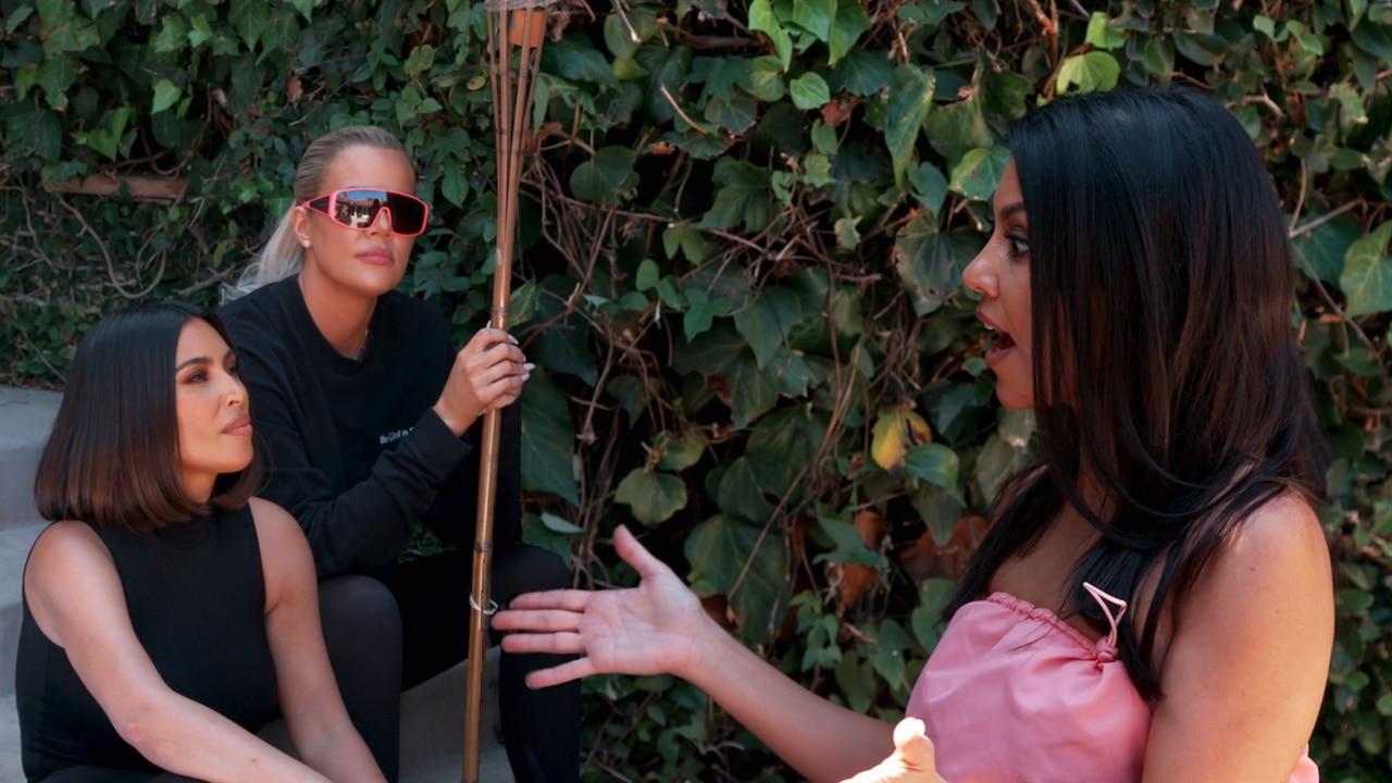 See Kim and Khloe Kardashian Confront Kourtney Over Her KUWTK Filming Boundaries