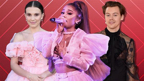 Millie Bobby Brown Harry Styles Dance at Ariana Grande's Concert