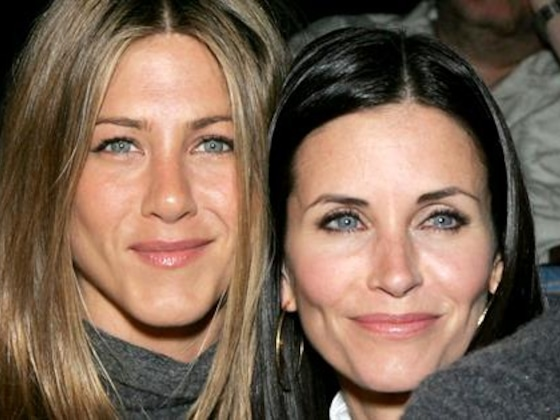 ¡Courteney Cox creyó que iba a morir junto a Jennifer Aniston!