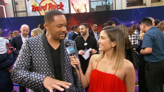 """Will Smith Reveals How He Kinda Trained for """"Aladdin's"""" Genie Role"""