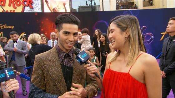 """Mena Massoud Says """"Aladdin"""" Role Is a """"Dream Come True"""""""