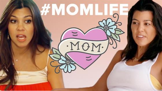 Kourtney Kardashian's Mommy 101 Moments