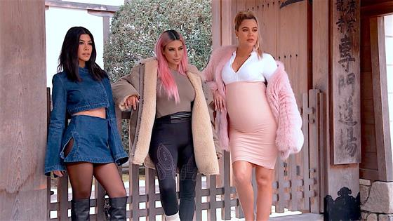 'KUWTK': Kourtney and Khloe Kardashian's Outfits 'Disgusting' During Tokyo Fitting, Says Kim