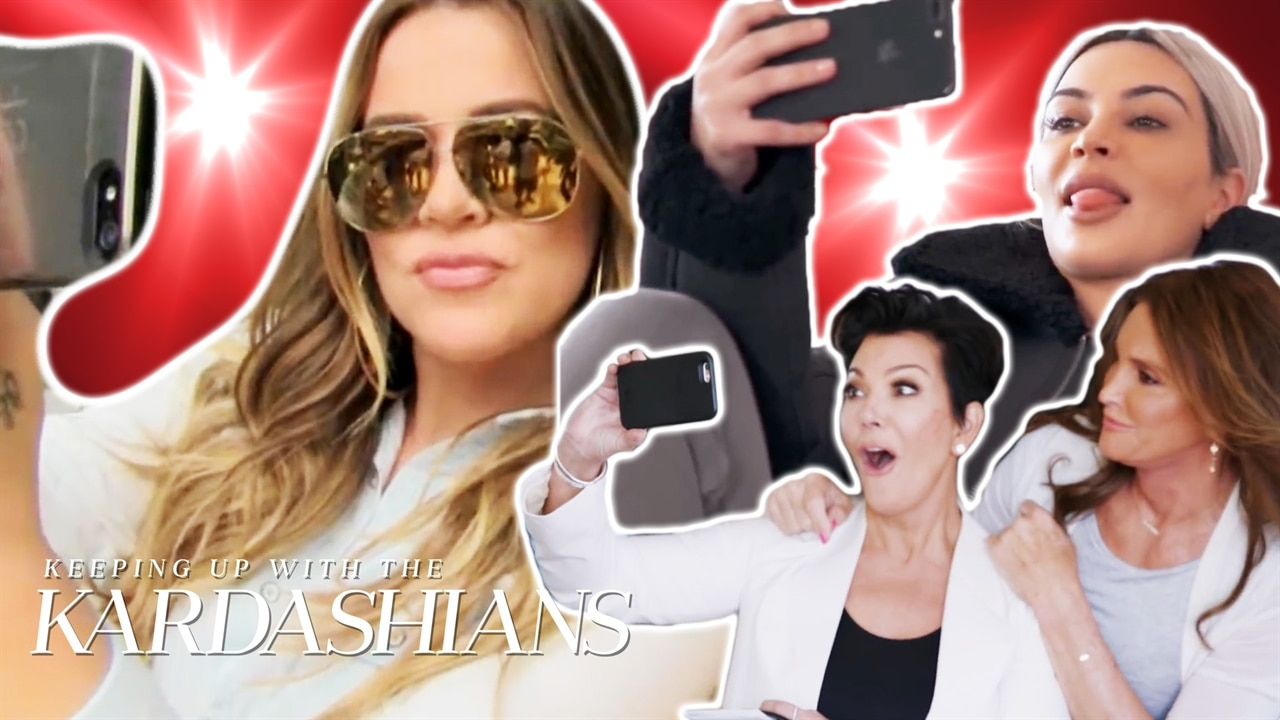 Happy National Selfie Day! Relive the Kardashians' Best Selfie Moments From KUWTK