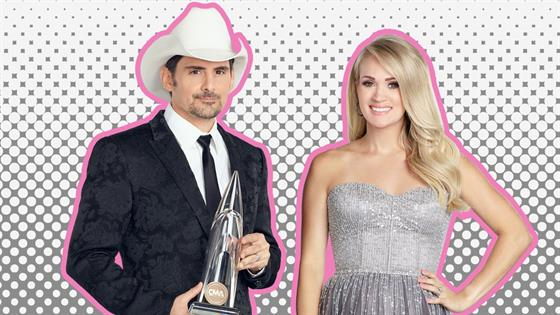 Pregnant Carrie Underwood reveals baby's gender at CMA Awards