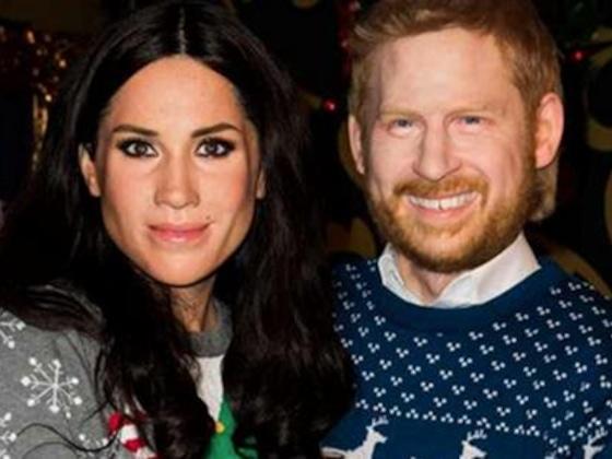 Meghan Markle e Príncipe Harry ganham máscaras de cera assustadoras