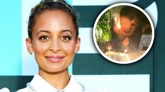 Nicole Richie's Hair CATCHES FIRE at 40th Birthday! - E! Online