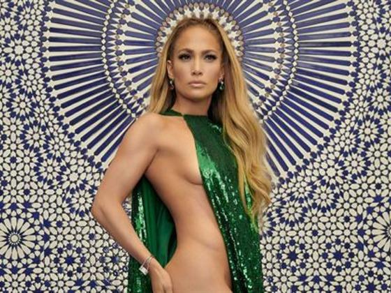 Jennifer Lopez Flashes a Thong on Music Video Set