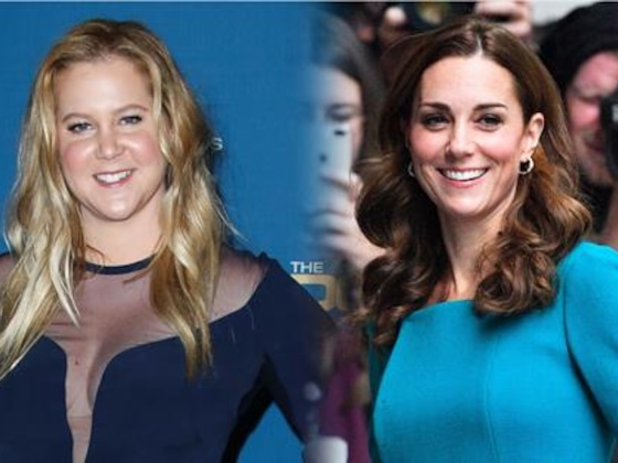 What Amy Schumer & Kate Middleton's Pregnancies Have In Common