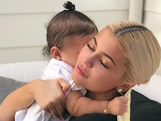 Kylie Jenner Tries to Teach Baby Stormi Two New Words