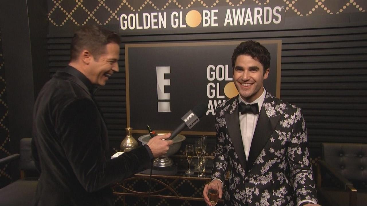 Darren Criss Reveals How His Father Prepared Him for Touching Golden Globes Speech