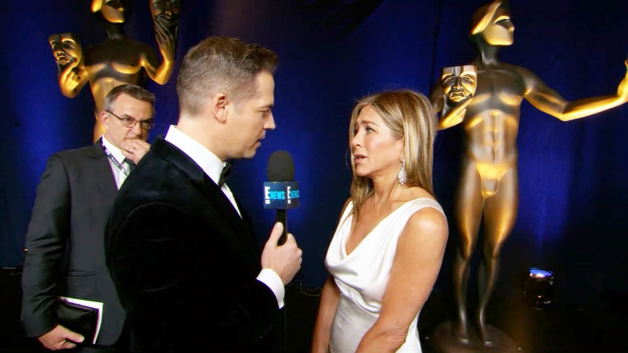 Jennifer Aniston Didn't Expect Her 2020 SAG Win - E! Online
