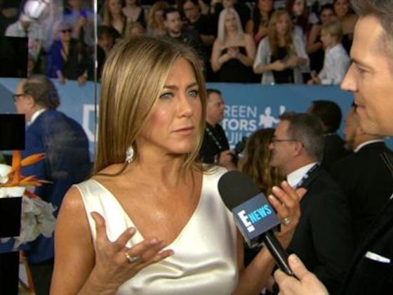 Jennifer Aniston Says
