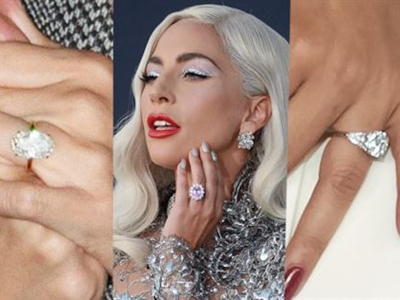 Lady Gaga's Engagement Ring vs. Other Star Bling
