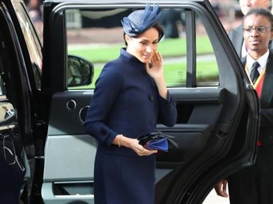 How Meghan Markle Hid Her Royal Baby Bump
