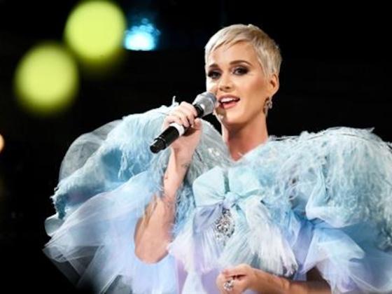 Katy Perry Receives Courage Award at the amfAR Gala